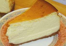 Light & creamy New York Style Cheesecake