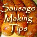 Lesley's Recipe Archive: Tips for the home sausage maker