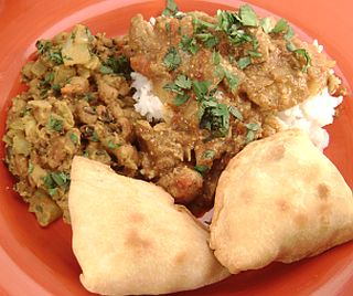 CLICK for recipes to this Indian style dinner